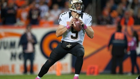SAINTS (-2) over Broncos (Over/under 49)