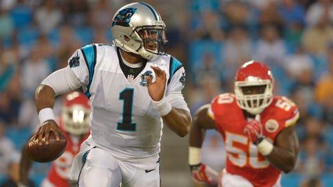 PANTHERS (-3) over Chiefs (Over/under: 44.5)