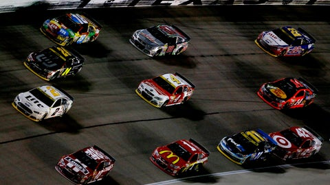 Starting lineup for the AAA Texas 500 at Texas Motor Speedway
