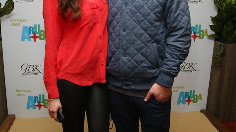 A.J. McCarron and Katherine Webb
