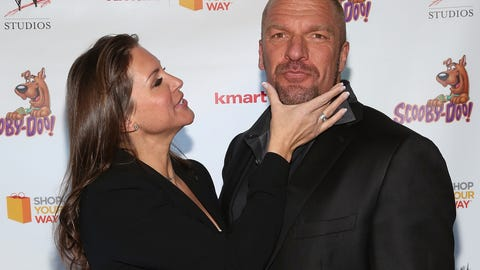 Stephanie McMahon and Triple H (married)