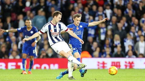 Leicester vs. West Brom (Sunday, 11:30 am)
