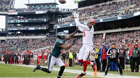 Tampa Bay Buccaneers—Mike Evans' catch radius