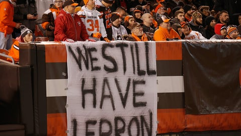 It's a Browns thing