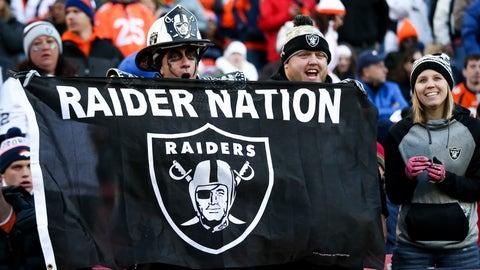 A flag for Raider Nation