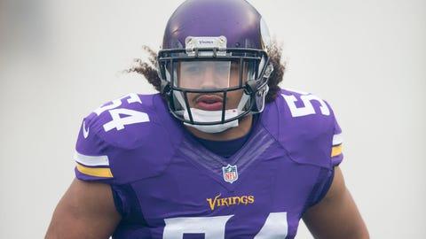 Eric Kendricks, LB, Vikings (hip)