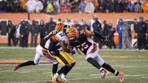 Cincinnati Bengals—Vontaze Burfict's shoulders