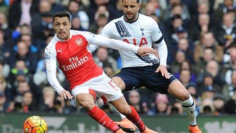 Arsenal vs. Tottenham Hotspur (Sunday, 7 am)
