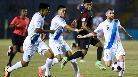 1st loss to Guatemala since 1988