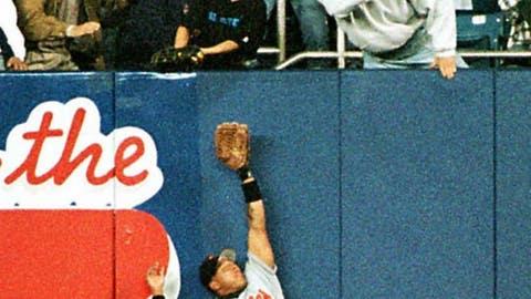 Jeffrey Maier, 1996 ALCS Game 1 (Yankee Stadium)