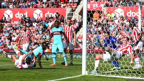 West Ham vs. Stoke City (Saturday, 11 am)