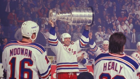 Vancouver Canucks at New York Rangers, 1994 NHL finals, Game 7 (MSG)