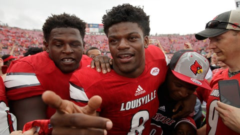 No. 11 Louisville Cardinals (overrated)