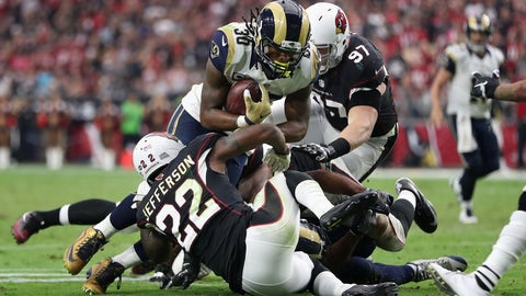 The Rams offense is bad and quarterback isn't necessarily the spot that needs fixing
