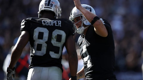 The Raiders are the team to beat in the AFC