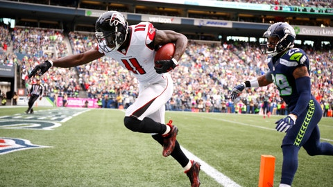 Atlanta Falcons—Julio Jones' afterburners