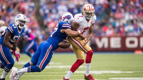 Buffalo Bills—Lorenzo Alexander's productivity
