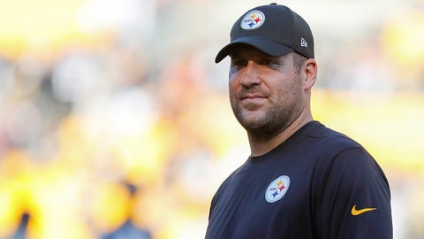 Ben Roethlisberger, QB, Steelers (knee)