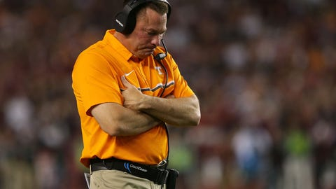 No. 23 Tennessee Volunteers (overrated)