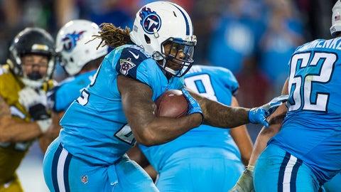 Derrick Henry, RB, Titans (calf)