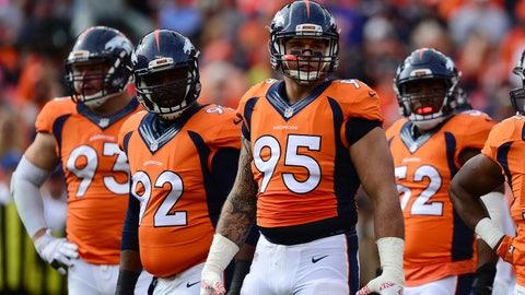 Derek Wolfe, DE, Broncos (elbow)