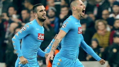 Napoli rescue draw thanks to Hamsik