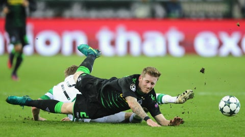 Gladbach hit a major Celtic speed bump