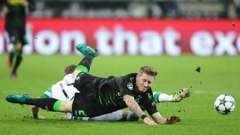 Gladbach hit a major Celtic speed bump