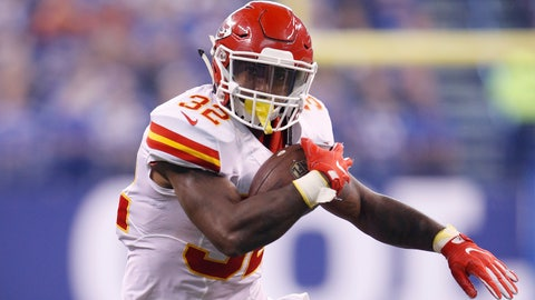 Spencer Ware, RB, Chiefs (concussion)