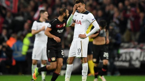 Tottenham's string of disappointing results continues