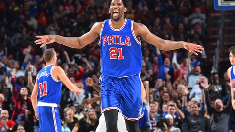 Best rookie: Joel Embiid