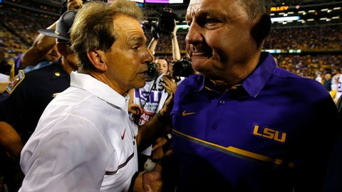 24. LSU Tigers (underrated)