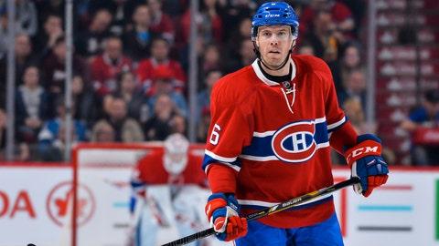 Shea Weber, D, Canadiens