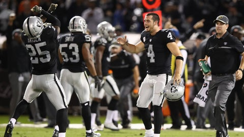 Oakland Raiders (last week: 8)
