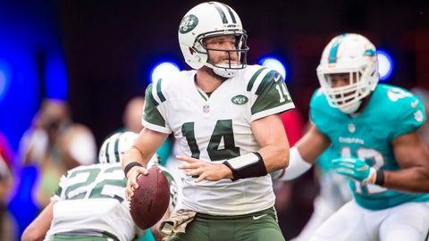 Ryan Fitzpatrick, QB, Jets (knee)