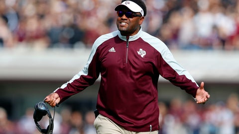 Kevin Sumlin turned on his seat warmer