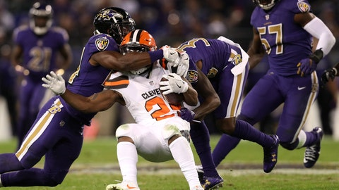 Ravens 28 - Browns 7