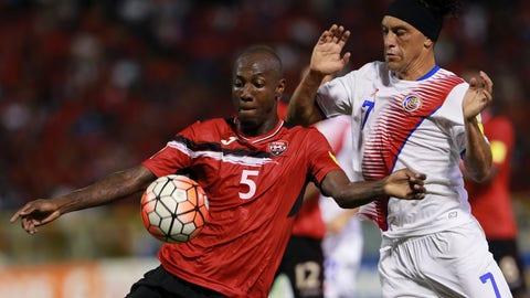 Trinidad and Tobago - 0 pts, -2 GD