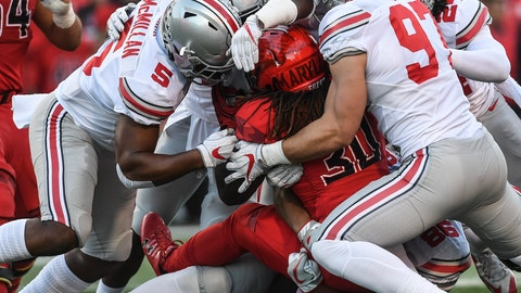 Ohio State (9-1), re-rank: 2