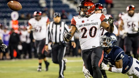 San Diego State (9-1), re-rank: 27