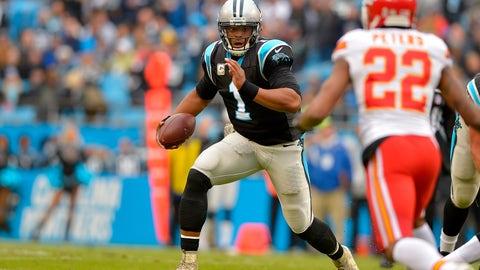 Carolina Panthers—Cam Newton's durability