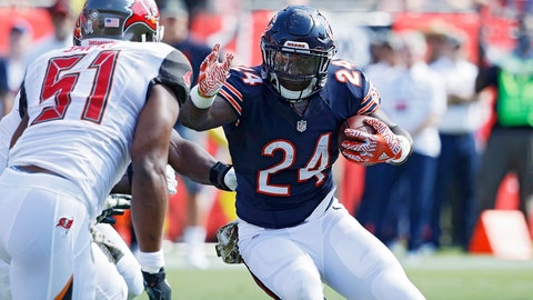 Jordan Howard, RB, Bears (ankle/Achilles)