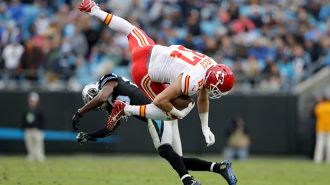 Chiefs 20 - Panthers 17