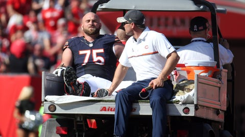 Kyle Long, G, Bears (ankle)