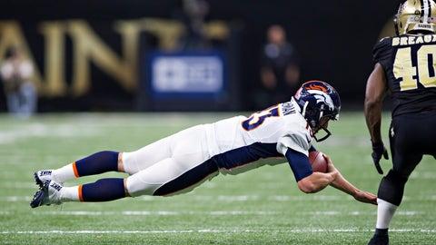 Broncos 25 - Saints 23
