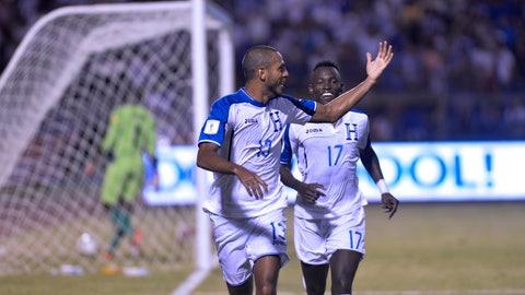 Honduras - 4 points