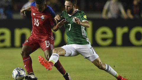 November 15: Panama 0-0 Mexico