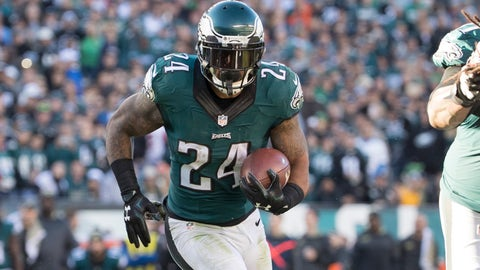 Ryan Mathews, RB, Eagles (knee): Out