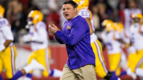 LSU picked second, but picked the right guy