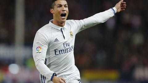 Cristiano Ronaldo is embracing his role as a villain